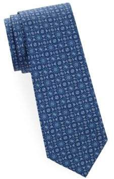 Saks Fifth Avenue Intricate Silk Tie