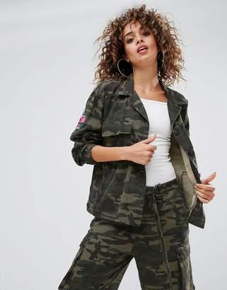 Gestuz Milla Camo Utility Jacket