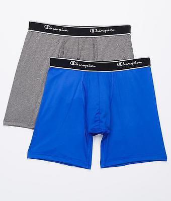 Champion Tech Performance Boxer Brief 2-Pack Underwear, Activewear - Men's