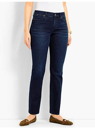 Talbots Denim Slim Ankle-Curvy Fit/Empire Blue Wash