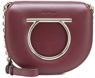 Salvatore Ferragamo Vela Medium leather shoulder bag