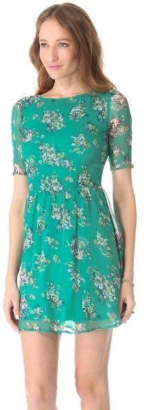 Ella Moss Citrus Floral Dress