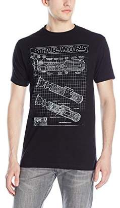 Star Wars Men's Saber Schematics T-Shirt