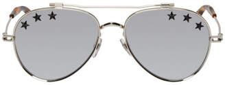 Givenchy Silver GV 7057 Stars Sunglasses