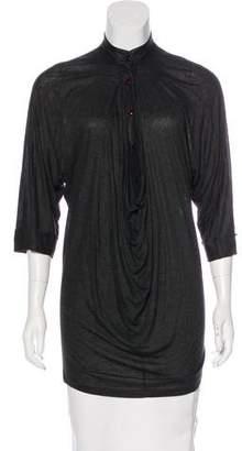 Stella McCartney Oversize Short Sleeve Top