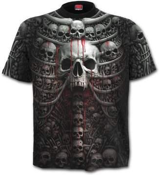 Spiral - DEATH RIBS - Allover T-Shirt - XL