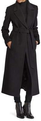 Lauren Ralph Lauren Belted Wool-Blend Coat