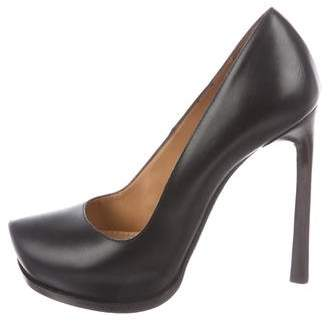 Lanvin Leather High-Heel Pumps