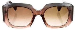 Marni Square Gradient Sunglasses