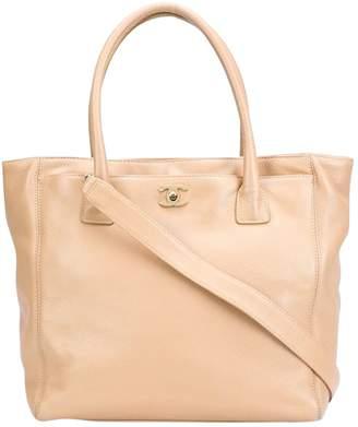 Chanel Beige Leather Handbag