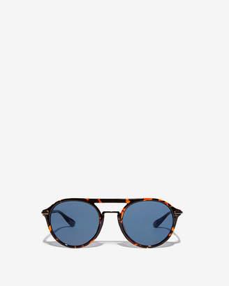 Express Round Tortoiseshell Sunglasses