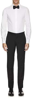 Armani Collezioni MEN'S STRIPED COTTON POPLIN DRESS SHIRT