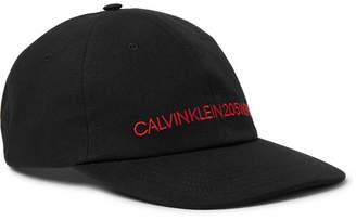Calvin Klein Embroidered Cotton-Canvas Baseball Cap