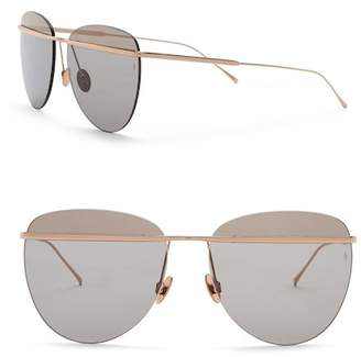 Cat Eye SUNDAY SOMEWHERE Tallulah 58mm Rimless Sunglasses