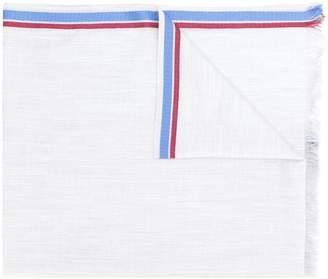 Loewe fringed edge stripe scarf