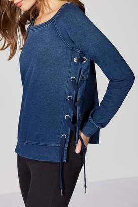 Bailey 44 Lace-Up Top