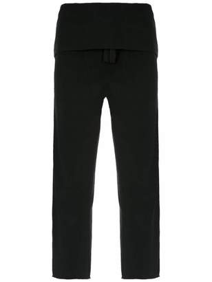 OSKLEN layered trousers