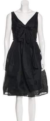 Magaschoni Silk Knee-Length Dress