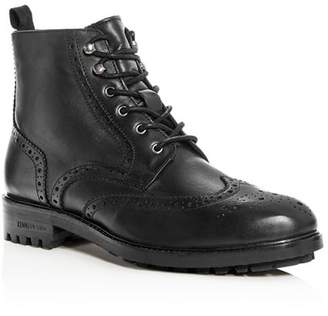 Kenneth Cole Men's Maraq Leather Wingtip Boots