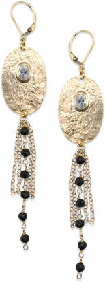 Electric Picks Gold Skies Earrings