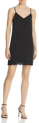AQUA Fringe Hem Dress - 100% Exclusive $78 thestylecure.com