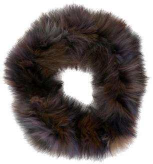 Jocelyn Fox Fur Infinity Scarf