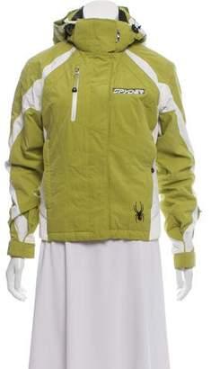 Spyder Zip-Up Hooded Jacket