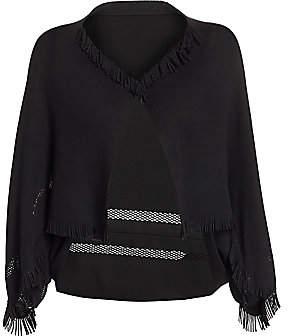Issey Miyake Women's Line Mesh Fringe Jacket
