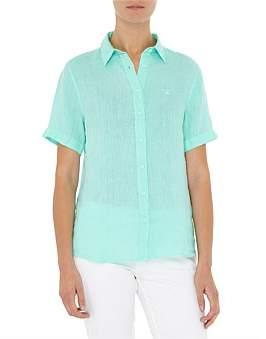 Gant Linen Ss Shirt