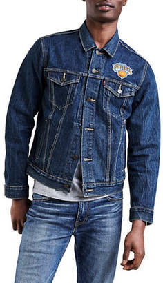 Levi's New York Knicks Denim Trucker Jacket