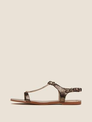 DKNY Kaden Metallic Sandal