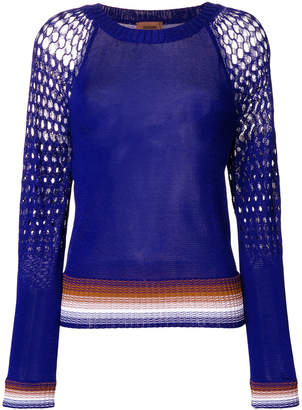 Missoni open knit jumper