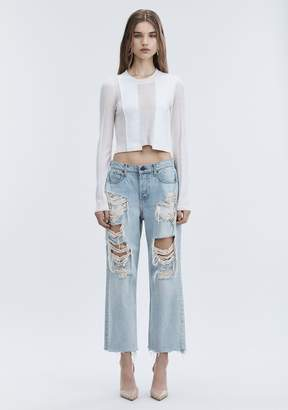 Alexander Wang RIVAL BOY FIT JEAN DENIM