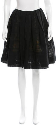 Paul Smith Textured A-Line Skirt $75 thestylecure.com