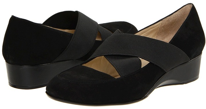 Taryn Rose Farrah (Black Kid Suede) - Footwear