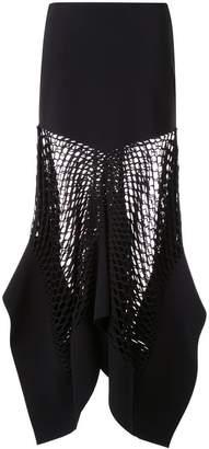 Dion Lee mesh panel skirt