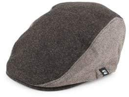 Textured Newsboy Hat