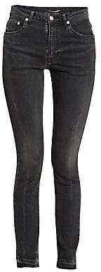 Saint Laurent Women's Frayed Hem Jeans