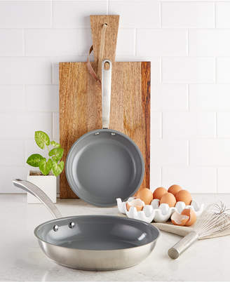 Martha Stewart Collection 2-Pc. Fry Pan Set, Created for Macy's