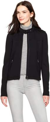 Kenneth Cole New York Women's Signature Moto Jacket
