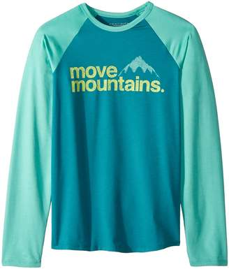 Columbia Kids Outdoor Elementstm Long Sleeve Shirt Girl's Long Sleeve Pullover