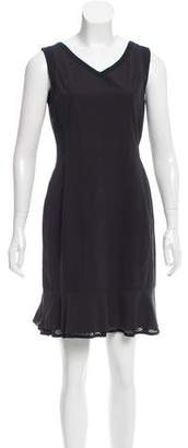 Marc Cain Sleeveless Perforated Dress