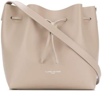 Lancaster logo bucket shoulder bag
