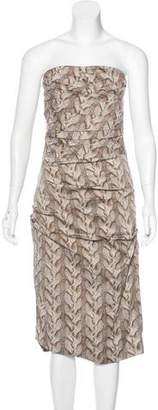 Samantha Sung Printed Sheath Dress
