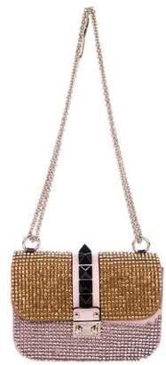 Valentino Glam Lock Crystal Bag