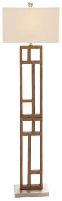 Uma Enterprises 62In Wood Floor Lamp