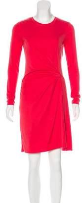 BCBGMAXAZRIA Knee-Length Rib Knit Dress