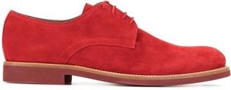 Manolo Blahnik tonal derby shoes