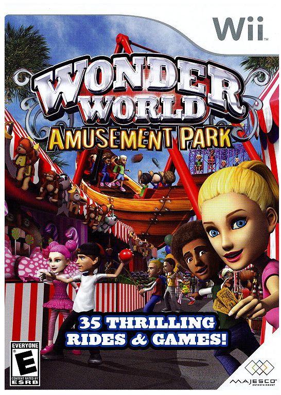 Nintendo wii wonderworld amusement park