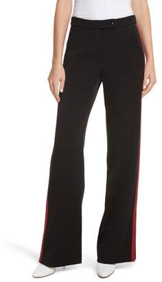 Tracy Reese Side Vent Wide Leg Pants